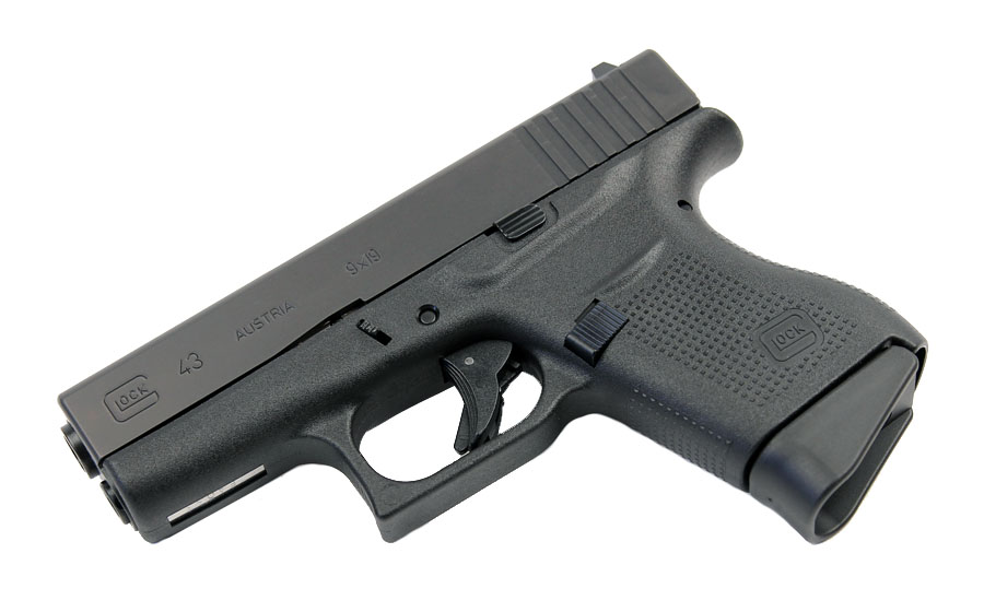 Glock 43 9mm - Black