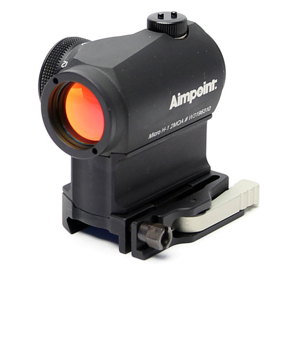 Aimpoint Micro H-1 - 2MOA - QD LRP Mount