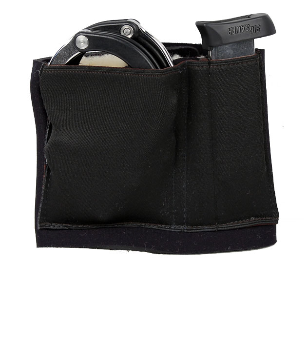 Gould & Goodrich Ankle Carrier - Handcuff and Magazine