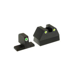 Ameriglo Tritium Night Sight Set - USP COMPACT - Green/Yellow