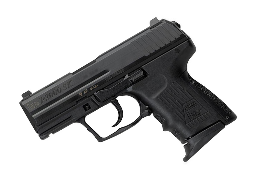 H&K P2000SK .40S&W, LEM, Fixed Sights