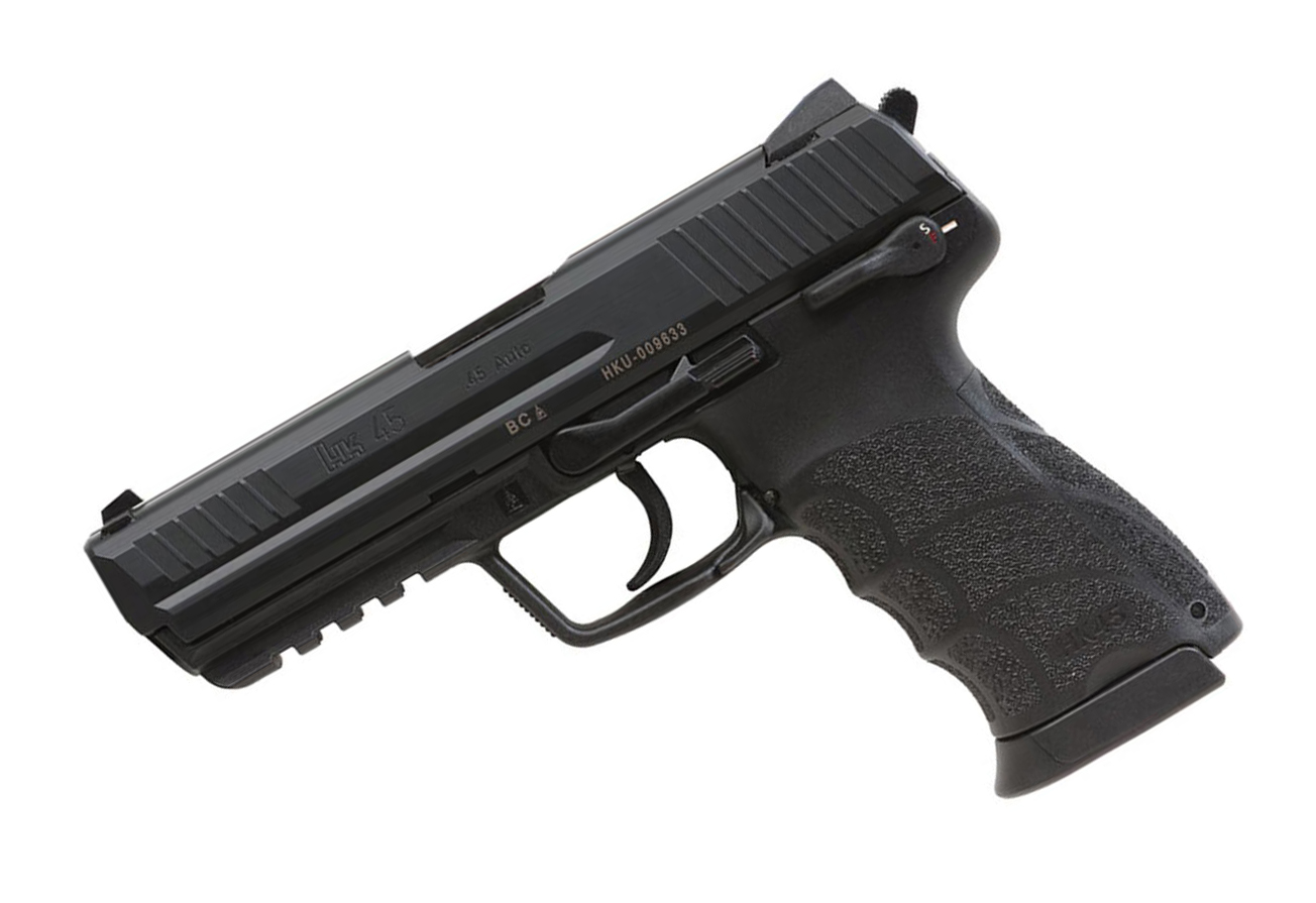 H&K HK45 Full Size .45ACP, DA/SA, fixed sights