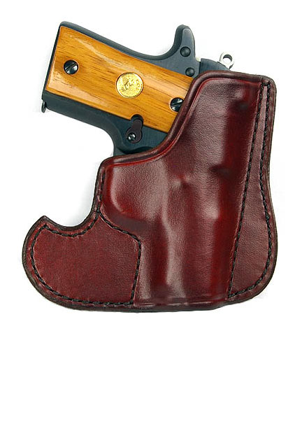 Don Hume 001 Pocket Holster, Brown, Colt Mustang