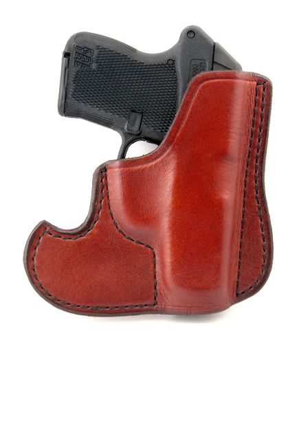 Don Hume 001 Pocket Holster, Brown, Kel-Tec P-3AT, Ruger LCP
