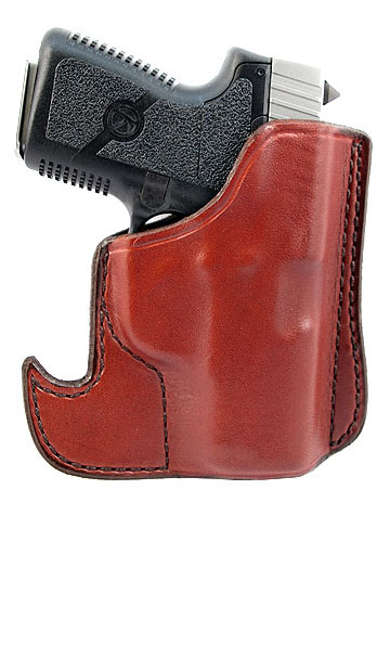 Don Hume 001 Pocket Holster, Brown - Small Revolver