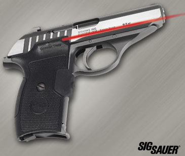 crimson trace laser grips sig sauer p230 p232 top gun supply