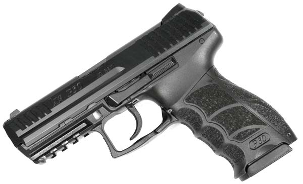 H&K P30 .40SW, Light LEM, fixed sights, V1