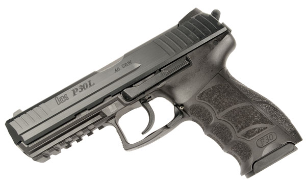 H&K P30L Long Slide .40S&W, DA/SA, fixed sights, V3