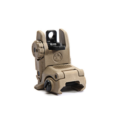 Magpul Industries MBUS Rear Sight - DARK EARTH - GENII