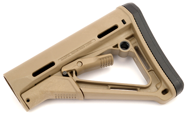 Magpul CTR Carbine Stock - COMMERCIAL - DARK EARTH