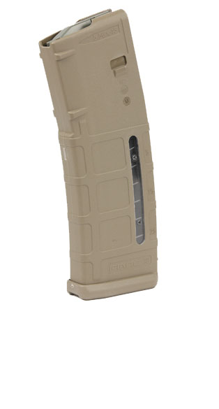 Magpul PMAG AR15 .223 30RD Magazine - MOE GEN M2 - DARK EARTH - WINDOW