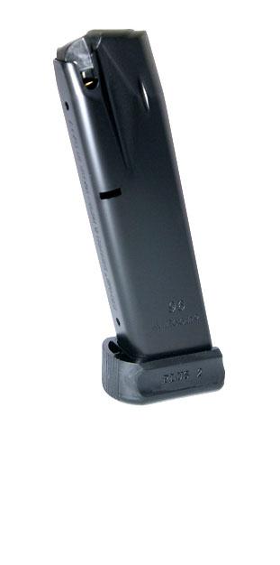 Mec-Gar Beretta 96 .40S&W 15rd magazine - ANTI-FRICTION COATING W/ADAPTER