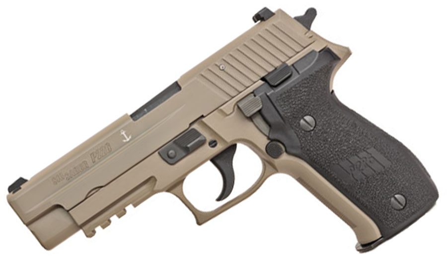 Sig Sauer P226 MK25 DESERT, 9mm, Night Sights, DA/SA