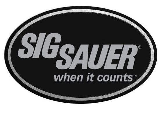 SIG SAUER vinyl Sticker