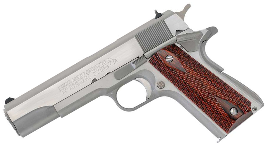 Colt Govt Model, .45ACP, SERIES 70 Reproduction, Stainless