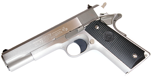 Colt Govt Model, .38 Super, Stainless