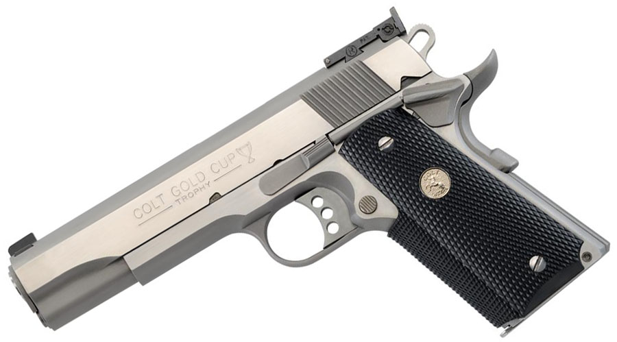 Colt Gold Cup Trophy, .45ACP, Stainless