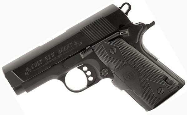 Colt New Agent , .45ACP, CTC Grips