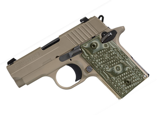 Sig Sauer P238 .380ACP Scorpion, Night Sights, SAO