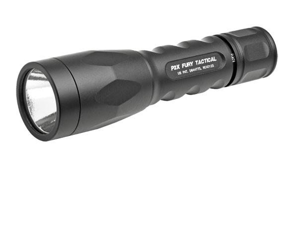 Surefire P2X Fury Tactical Flashlight - Black
