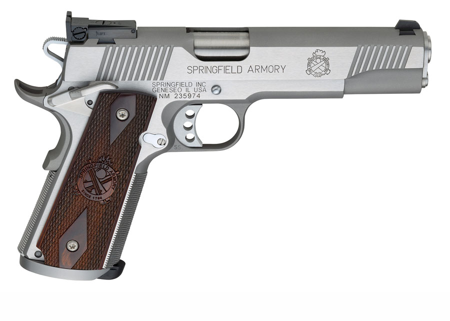 Springfield Armory 1911 Trophy Match SS .45ACP, 5
