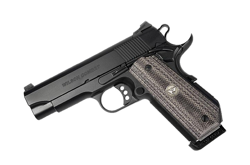 Wilson Combat Professional .45ACP, Tactical Safety, Black, Bobtail