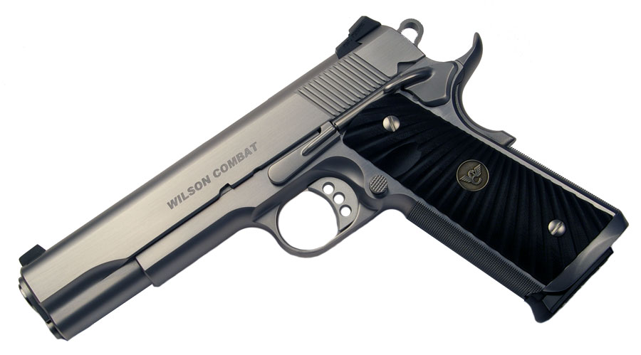 Wilson Combat Protector .45ACP, Ambi Safety, Stainless, G10 Grips