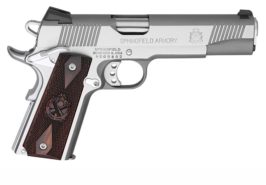 Springfield Armory Loaded Stainless 1911 .45ACP, 5