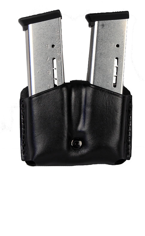 Ritchie Leather Double Mag Pouch - Glock 20/21