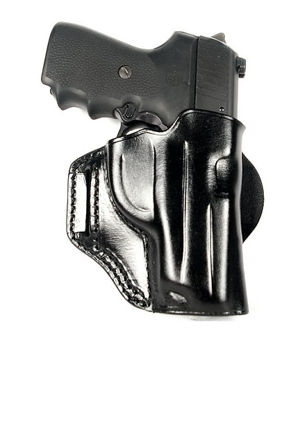 Ritchie Leather Vertical Speed Scabbard - HK USP Compact 9mm/.40SW