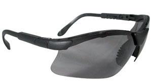 Radians Revelation Shooting Glasses BLK/DARK SMOKE