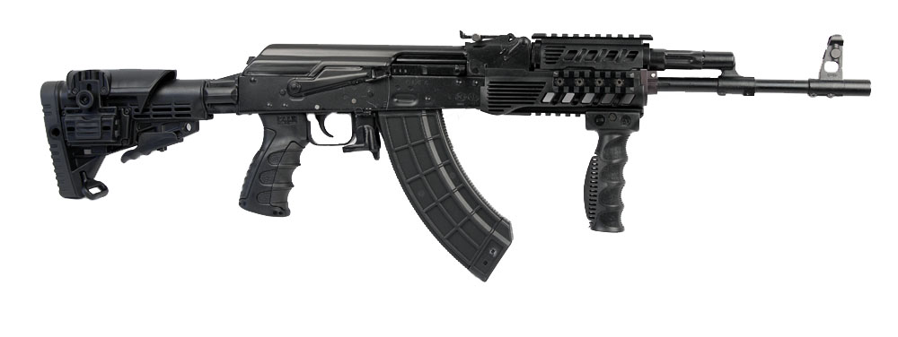 Izhmash RWC Modern Rifle 7.62X39, Black