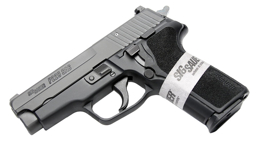 Sig Sauer P229 SAS Gen. 2, 9mm, Nitron, SigLite Night Sights, DA/SA, SRT