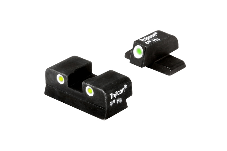 Trijicon Night Sight Set - SPRINGFIELD XD - YELLOW REAR