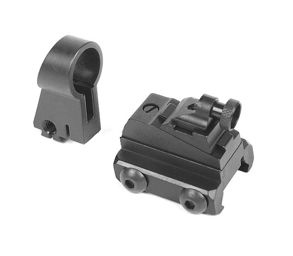 Sig Sauer front and rear sight set, adjustable - SIG 522