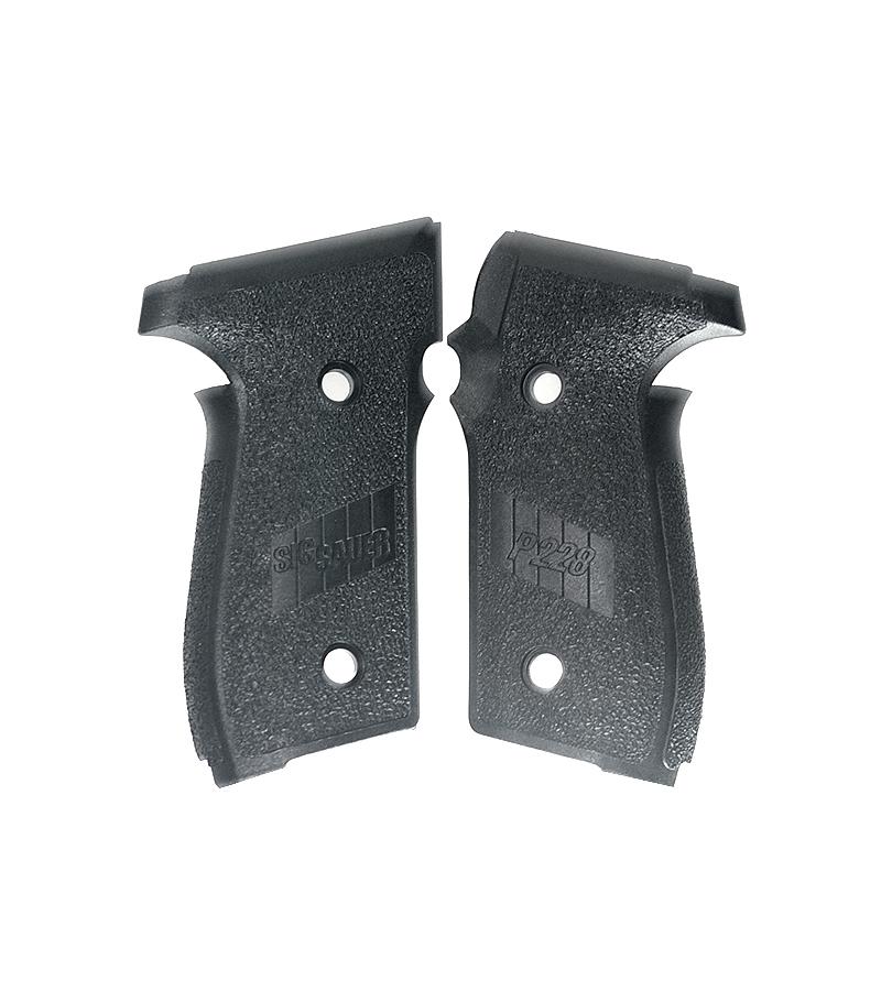 Sig Sauer P228 Grips, Black Polymer
