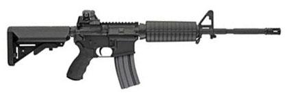 LMT Defender Standard Model Rifle, SOPMOD Stock, 5.56, 16 in.