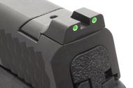 Ameriglo Tritium Night Sight Set - Smith-Wesson M&P Pistols - Green/Green