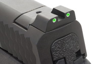 Ameriglo Tritium Night Sight Set - Smith-Wesson M&P Pistols - Green/Yellow