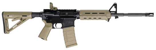 Smith & Wesson M&P-15 556NATO Rifle - MOE FDE