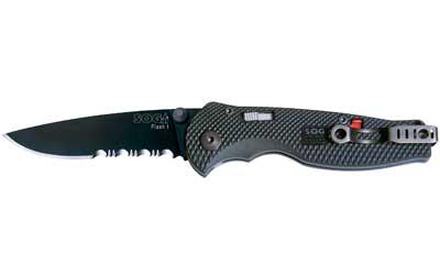 SOG Flash I TiNi 1/2 Serrated Knife