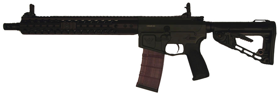 Wilson Combat Recon Tactical Rifle, .223 Rem/5.56x45 NATO 14.7