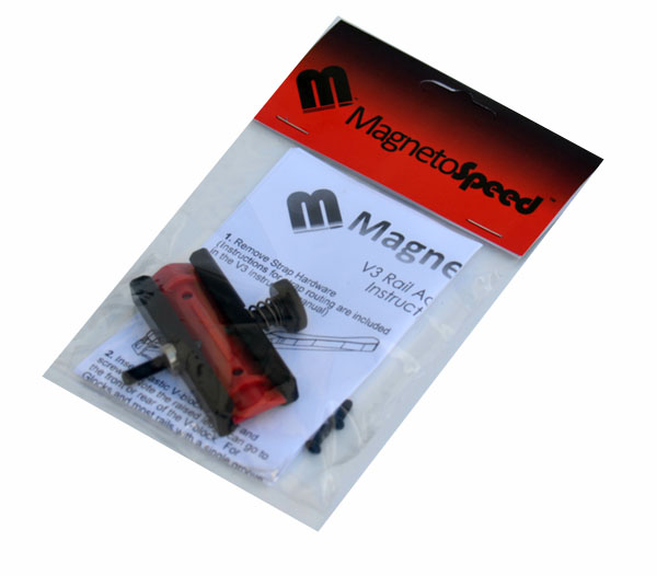 MagnetoSpeed V3 Rail Adapter