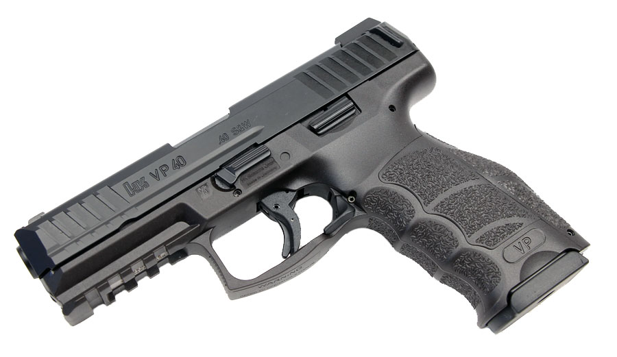 H&K VP40 LE .40S&W Striker Fired, Tritium Night Sights, 3 Mags