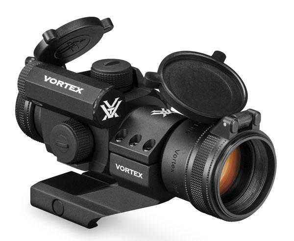 Vortex Optics StrikeFire II Red/Green Dot - 1/3 Mount - 4 MOA