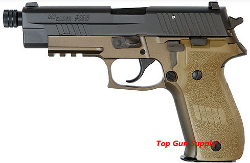 Sig Sauer P226R 9mm DA/SA, Combat, Threaded Barrel - IOP
