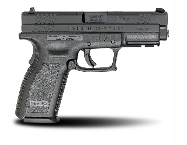 Springfield Armory XD9, Fixed Sights, 9mm, 4