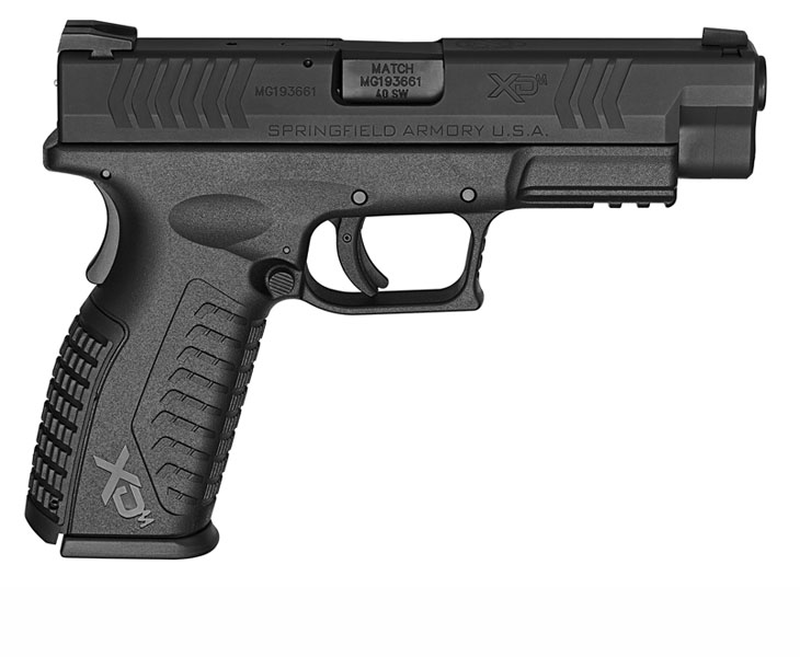 Springfield Armory XDM, .40S&W, Fixed Sights, 4.5
