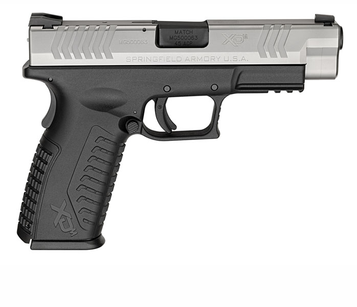 Springfield Armory XDM, .45ACP, Fixed Sights, 4.5