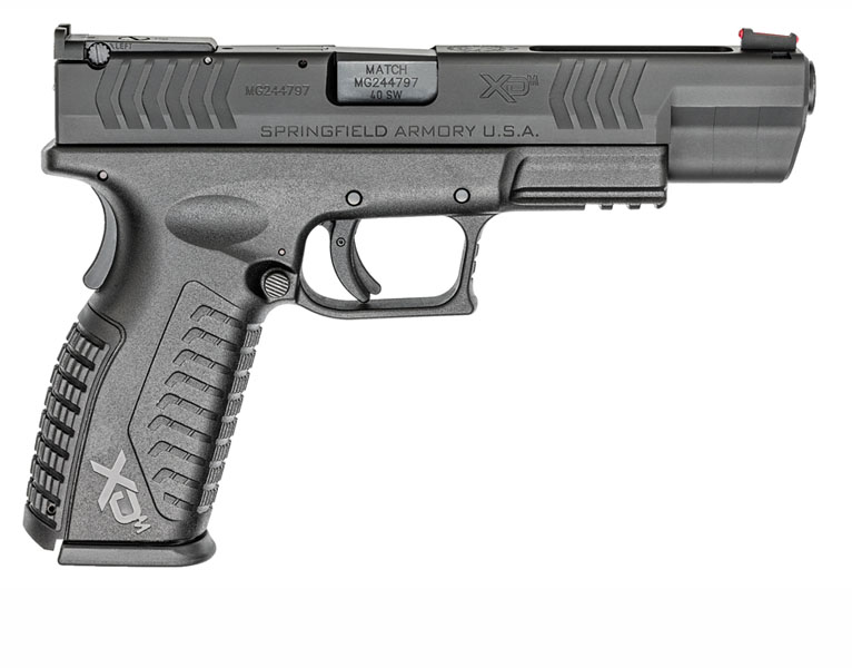 Springfield Armory XDM Competition, .40S&W, Adjustable Sights, 5.25
